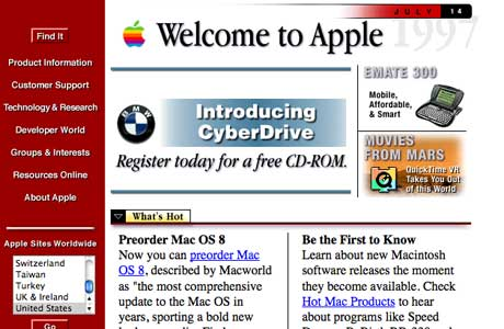 Apple design at launch