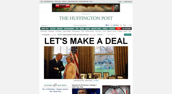 Huffington Post design now