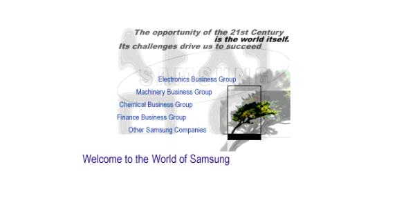Samsung design at launch