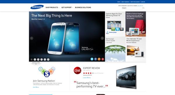 Samsung design now