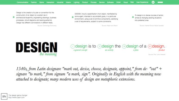 Design Definition What Does