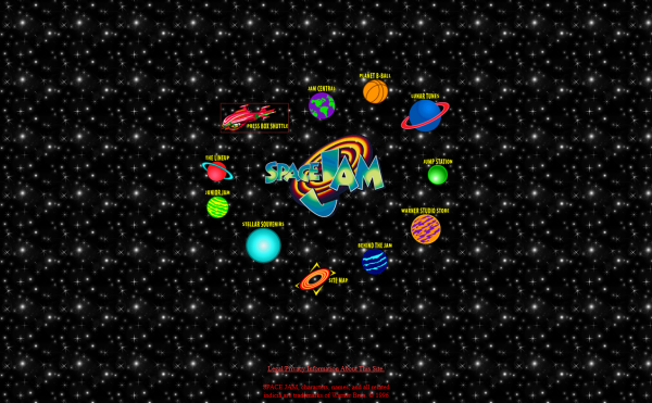 UXPin - funniest designs of the 90s Space Jam