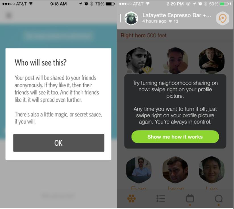 UI Patterns, Popovers, Dropbox