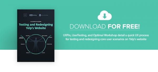 User Testing & Redesigning Yelp e-book