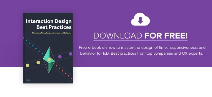 Interaction Design Best Practices: Time & Behavior