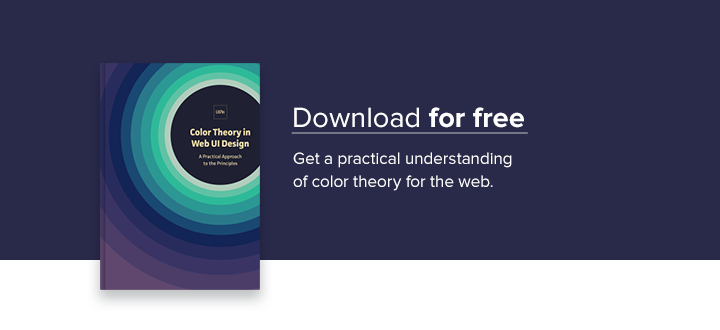 Free UI design e-book: Color Theory in Web UI Design