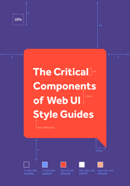 The Critical Components of Web UI Style Guides