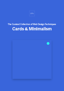 Free E-book of Web UI Design Techniques: Cards & Minimalism