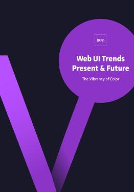 Web UI Trends Present Future The Vibrancy of Color