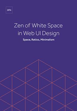 Zen of White Space in Web UI Design Space Ratios Minimalism