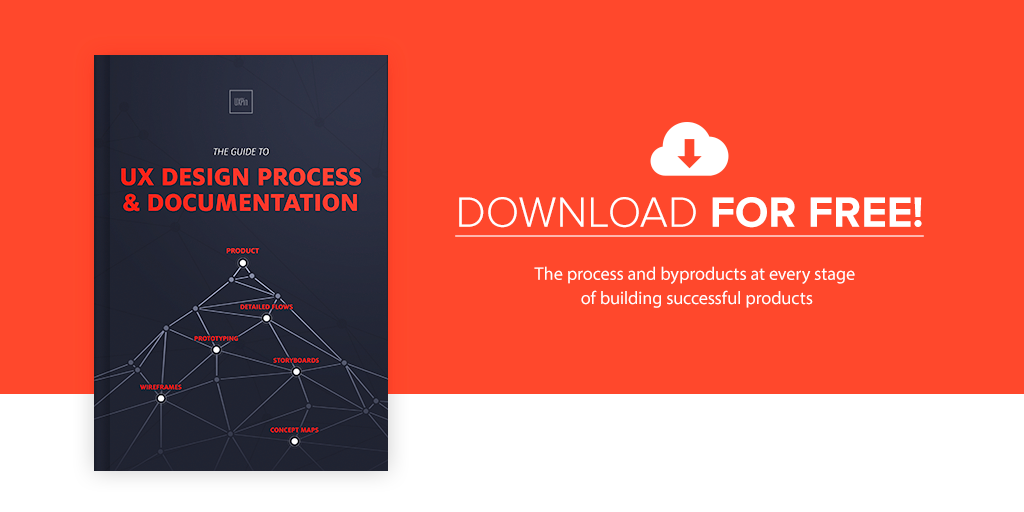 UX Design Process and Documentation: Get the free e-book!