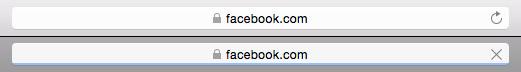 Screenshot of a browser loading bar