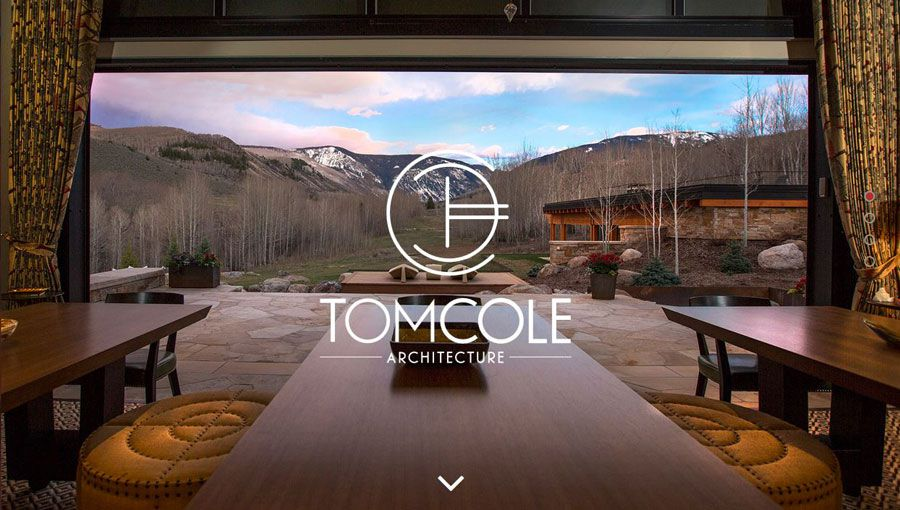 Screenshot of Tom Cole's website
