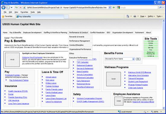 High Functional Prototype built in HTML