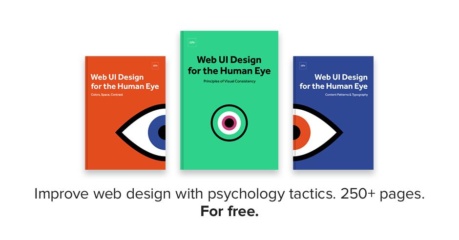 The Psychology of Web UI Design E-book Bundle