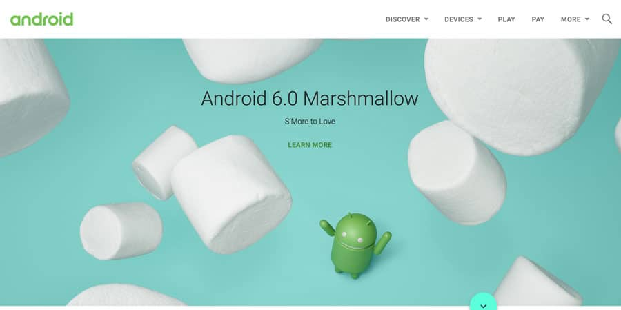 Android webdesign