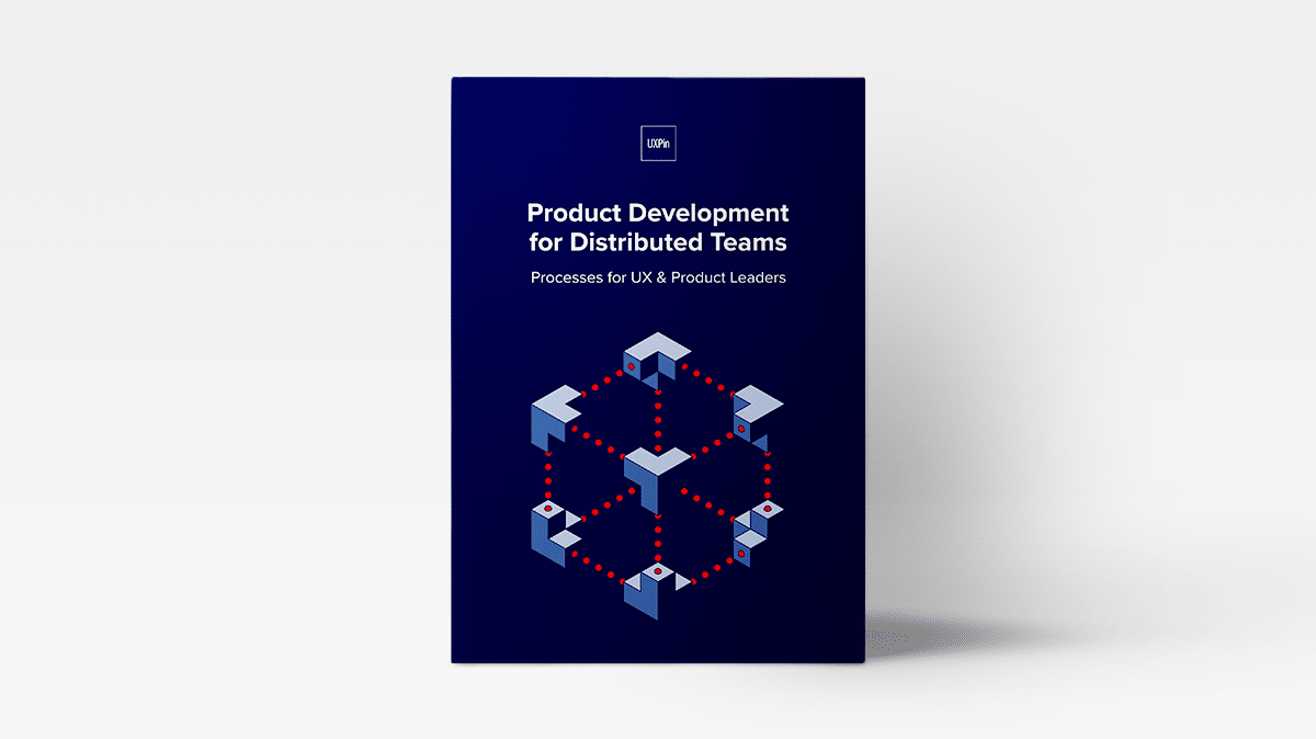 Ebook Product development and distributed teams UXPin
