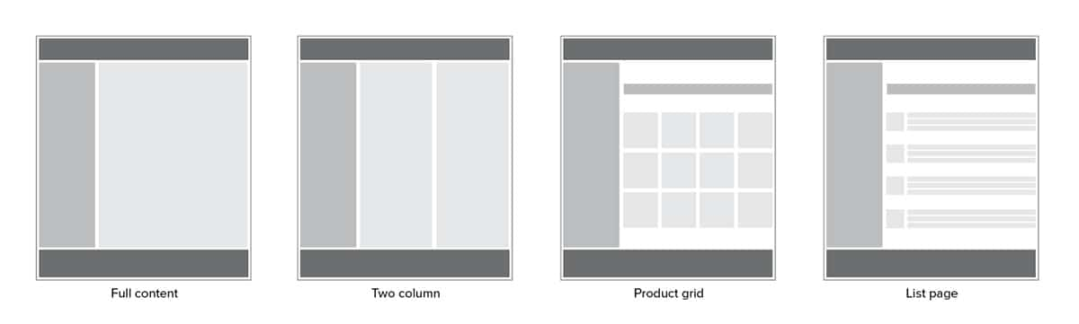 Design templates with UXPin