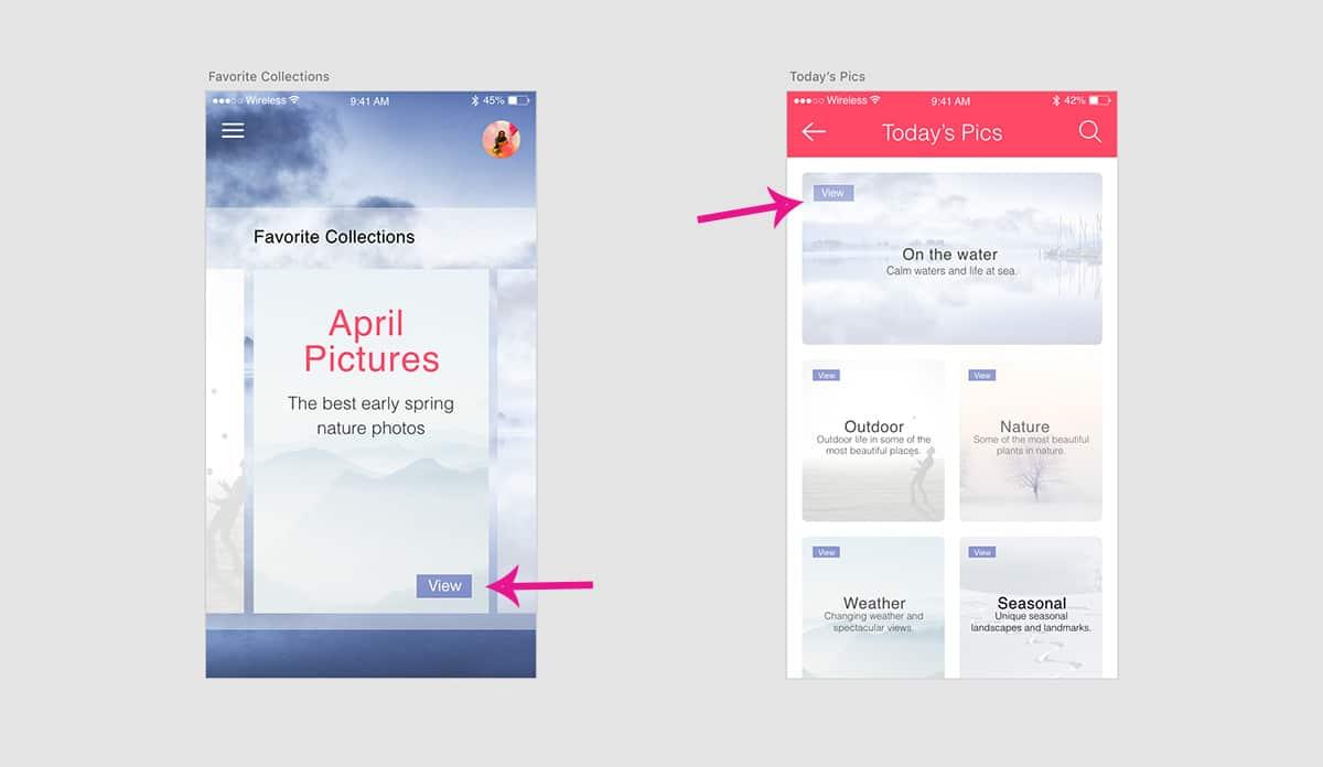 Button placement design consistency UXPin