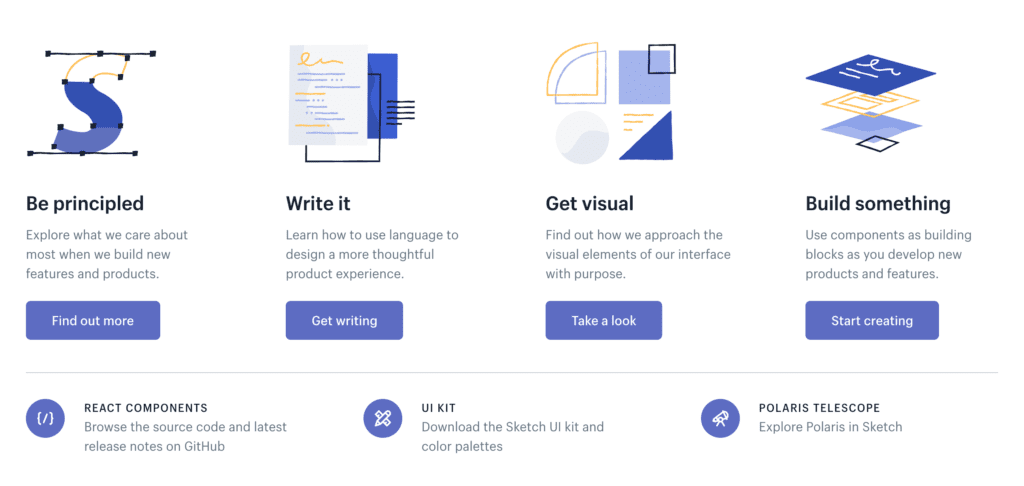 design systems example shopify