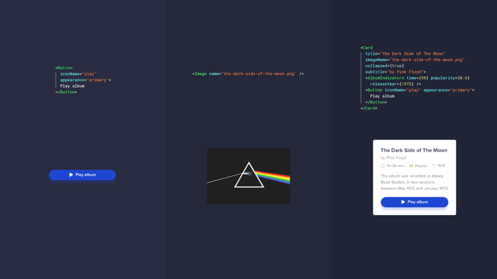 Code base design with UXPin