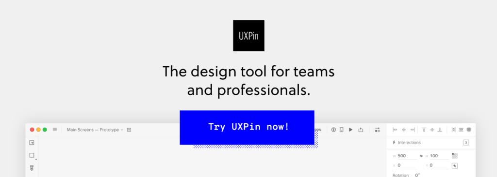 UXPin sign up